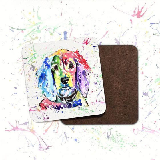 Hardboard Coaster (Cocker Spaniel)